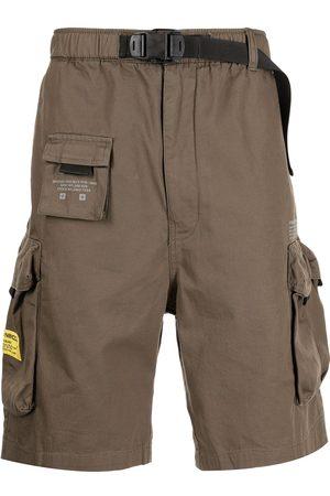 Izzue Homem Calções - Belt-waist cargo shorts