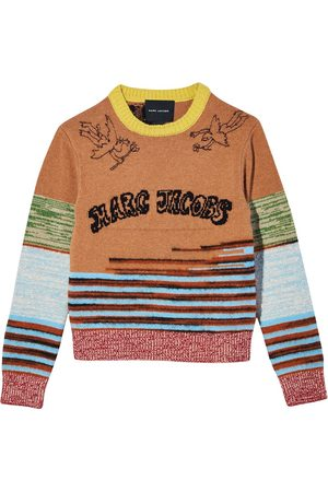 Marc Jacobs Tattoo knitted jumper