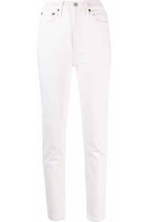 RE/DONE Comfort Stretch ankle-crop jeans