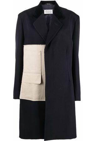 Maison Margiela Panelled single-breasted coat