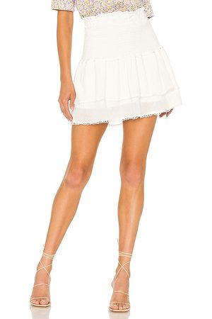 heartLoom Alpine Skirt in - White. Size L (also in XS, S, M).
