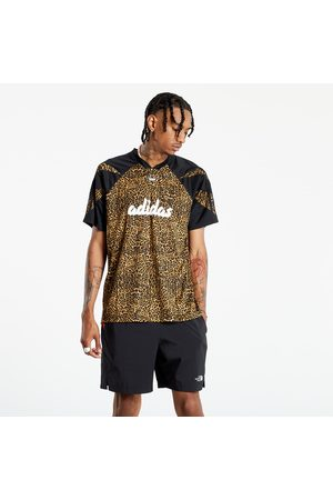 adidas Adidas Aop Fball Tee Beiton/ Mesa/ Black
