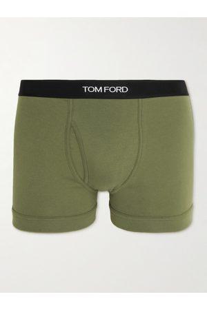 Tom Ford Homem Boxers - Stretch-Cotton Boxer Briefs