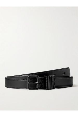 Saint Laurent 2cm Leather Belt