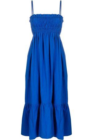 Ciao Lucia Senhora Vestidos Casual - Sleeveless square-neck dress