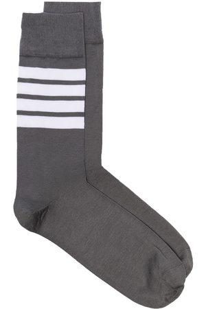 Thom Browne 4-Bar stripe socks