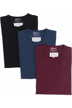 Maison Margiela Four-stitch T-shirts (pack of 3)