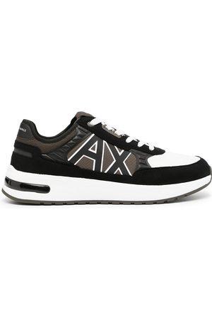 Armani Logo-print low-top sneakers