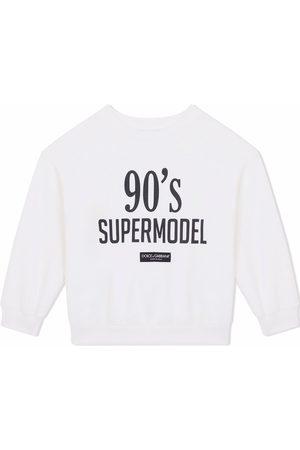 Dolce & Gabbana Slogan-print sweatshirt