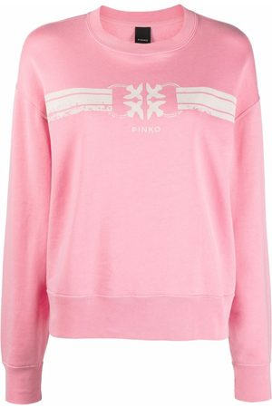 Pinko Senhora Camisolas sem capuz - Logo-print sweatshirt