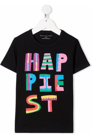 Stella McCartney Happiest-print short-sleeve T-shirt