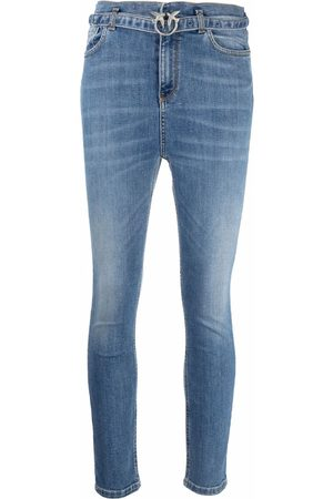Pinko Love-belt skinny jeans