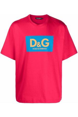 Dolce & Gabbana Logo-print boxy fit T-shirt