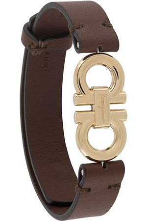 Salvatore Ferragamo Homem Pulseiras - Double-sided Gancini bracelet