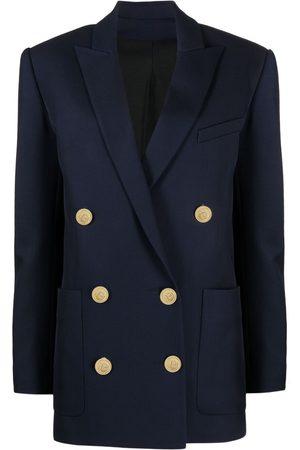 Balmain Senhora Blazers - Oversized double-breasted blazer