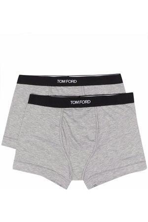 Tom Ford Homem Boxers - Logo-waistband boxer briefs (pack of 2)