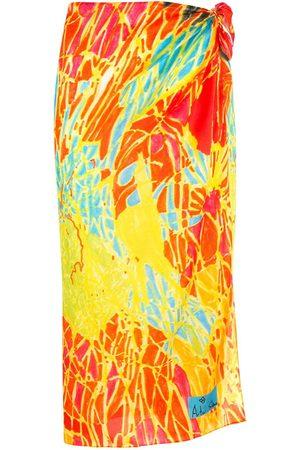AMIR SLAMA Senhora Saias Estampadas - Printed beach skirt