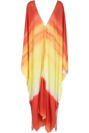 AMIR SLAMA Senhora Vestidos Estampados - Printed beach dress