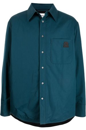 Lanvin Logo-patch shirt jacket