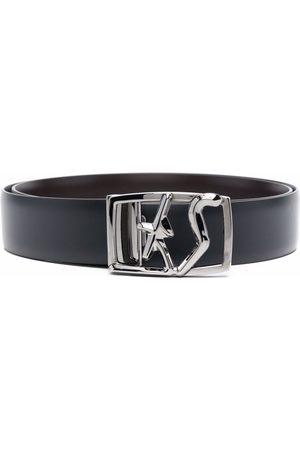 Salvatore Ferragamo Reversible logo buckle belt
