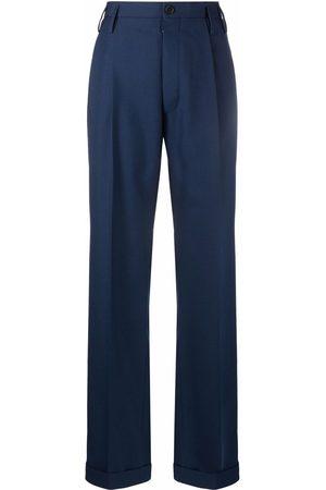 Maison Margiela High-waist straight trousersn
