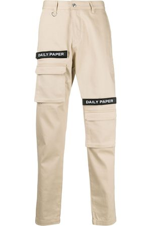 Daily paper Logo-embellished slim-fit trousers