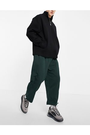 ASOS Organic co-ord oversized joggers with panel detail in green