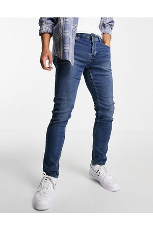 Only & Sons Slim fit jeans in dark blue
