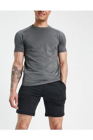Hurley Dri Disperse fleece shorts in black