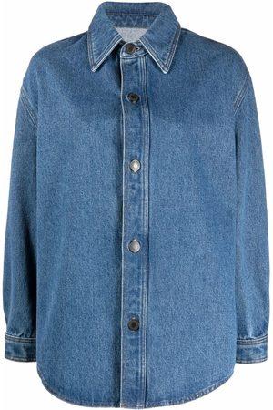 Ami Senhora Ganga - Long-sleeve denim overshirt