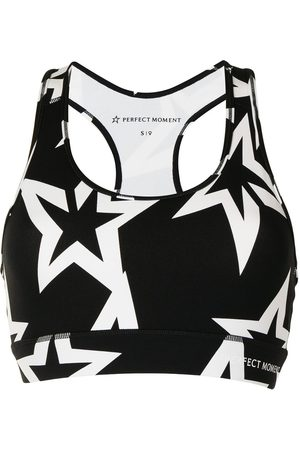 Perfect Moment Star-print cropped vest