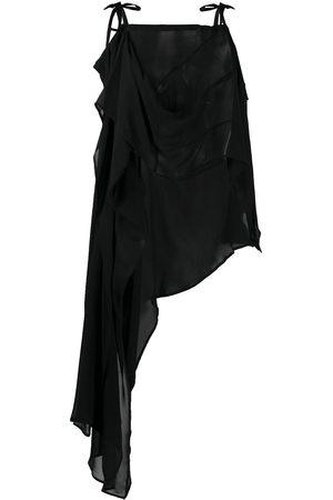 Ann Demeulemeester Asymmetric midi dress
