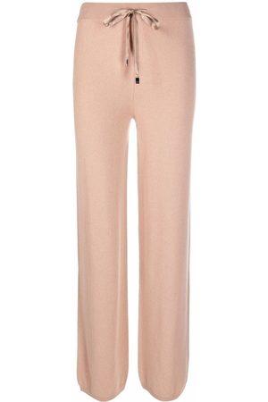 Peserico Drawstring straight trousers