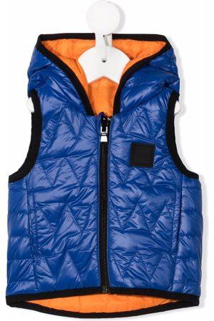BOSS Kidswear Hooded down gilet