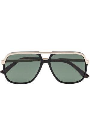 Gucci Eyewear GUCCI RECT METAL SUNGLASSES
