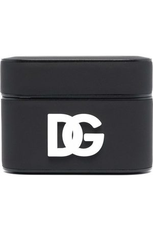 Dolce & Gabbana Logo-patch earbud case