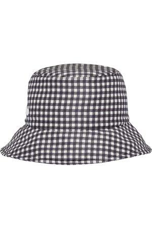 Miu Miu Gingham-pattern bucket hat