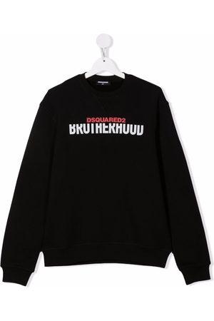 Dsquared2 Kids TEEN logo crew-neck sweatshirt