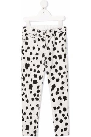 Stella McCartney Kids Dalmatian spots corduroy trousers