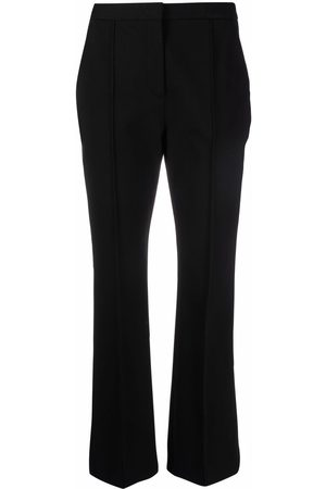 Aspesi Senhora Calças Justas - Piped-trim slim trousers