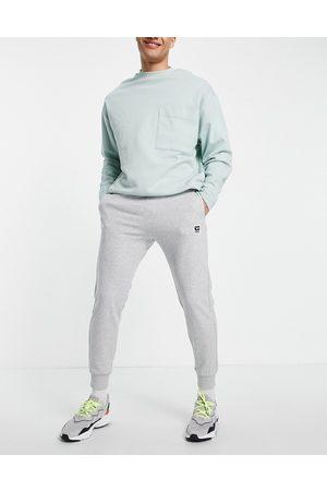 Diesel Homem Joggers - Logo joggers in grey