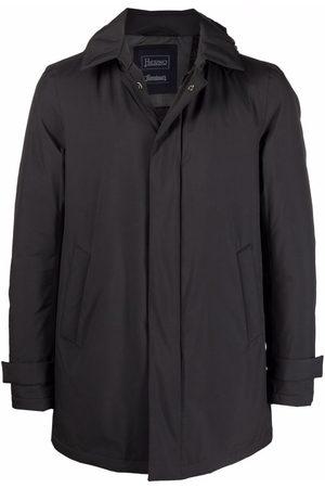 HERNO Homem Casacos de Inverno - Padded zip-front hooded coat