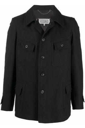 Maison Margiela Single-breasted denim coat