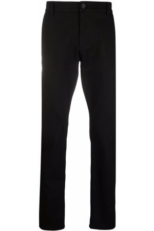 Alexander McQueen Homem Slim - Logo-patch slim-fit jeans