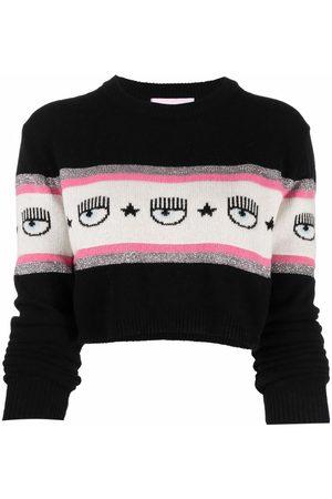 Chiara Ferragni Eye-knit cashmere-wool jumper