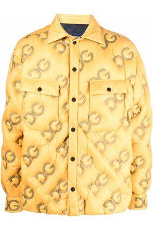 Dolce & Gabbana Homem Casacos de Inverno - Logo-embossed padded coat