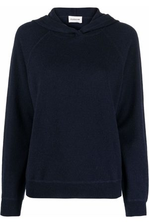 P.a.r.o.s.h. Hooded cashmere sweater