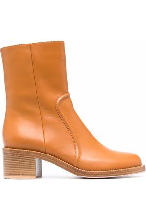 Gianvito Rossi Senhora Botins - Conner block-heel ankle boots