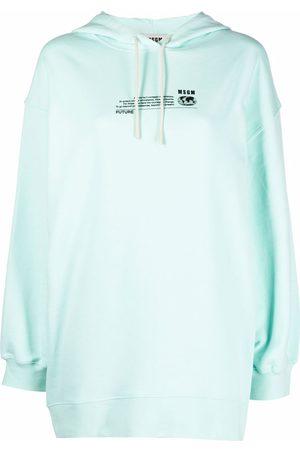 Msgm Logo-print hoodie