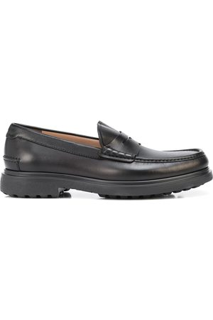 Salvatore Ferragamo Homem Oxford & Moccassins - Leather penny loafers